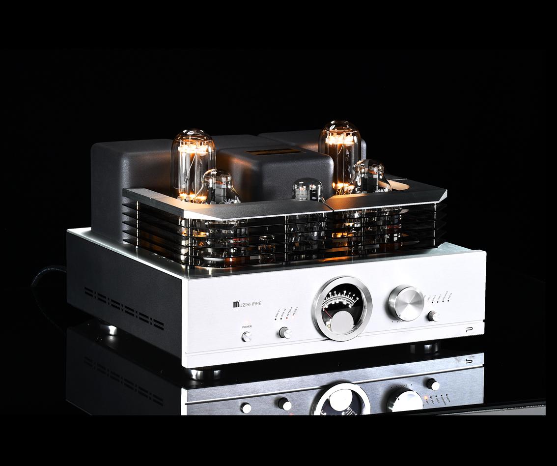 R100(300B TO 845)单端甲类合并式电子管功率放大器兼纯后级、唱放、平衡